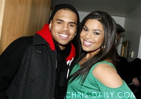 Jordin Sparks And Chris Brown On The Set Of No Air chris brown images chris on set of quot no air quot