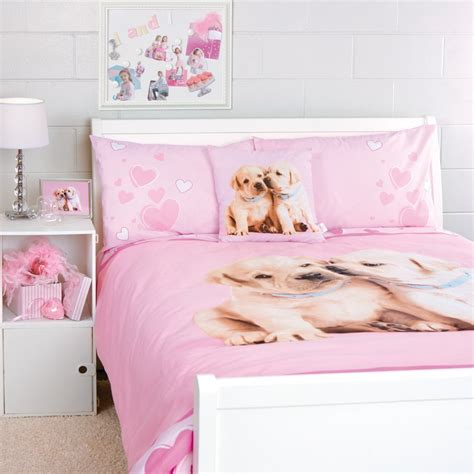 girls bedroom bedding dog theme bedding comforter pink bedroom pinterest