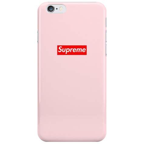 Supreme Iphone 6 Iphone 6s supreme pink logo iphone 6 6s bhcase