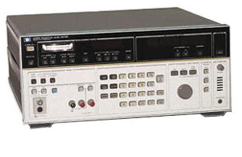 Anritsu Selective Level Meter Ml422c level meters test equipment connection 与 测仪联系 美国 有限公司 连结一起