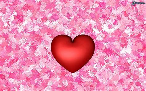 fiori e cuori cuore rosso