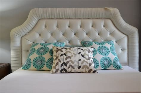 headboard with buttons custom pleated tufted headboard with nailheads crystal