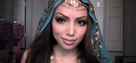 how to create a gorgeous exotic arabian princess makeup