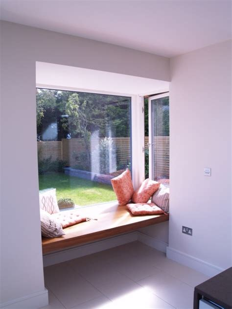 window side seating refurbishment and extension at ground floor to an existing