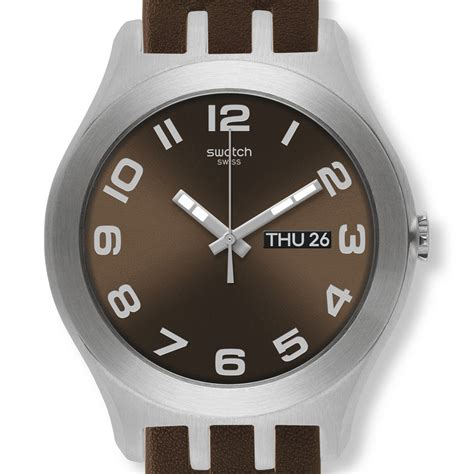 Swatch Klasik swatch brown classic yts713 swatch new big watches