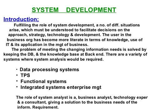 Mba Roles And Responsibilites by Mba Managment Information System Module 4 Ppt