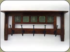 coat rack mission craftsman style pinterest