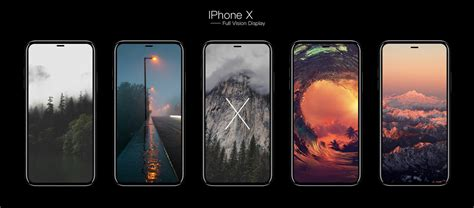 new concept imagines iphone x with vision display