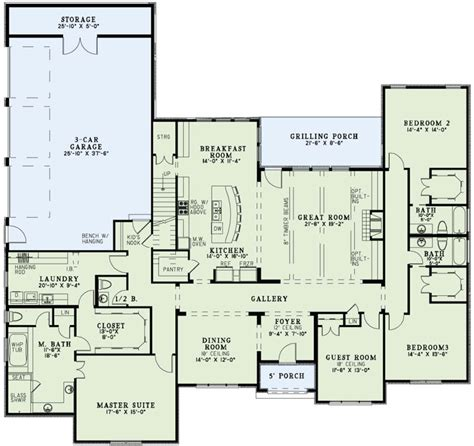 european style floor plans european style house plan 4 beds 4 5 baths 3415 sq ft