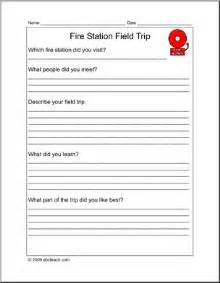 report form field trip fire station elementary abcteach