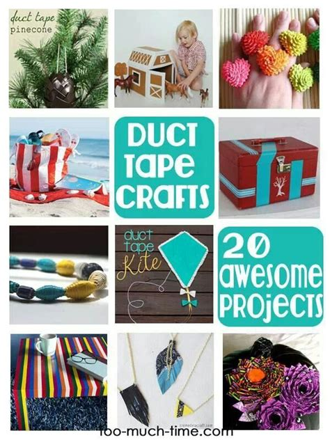 duct craft projects 20 duct craft projects crafty ideas