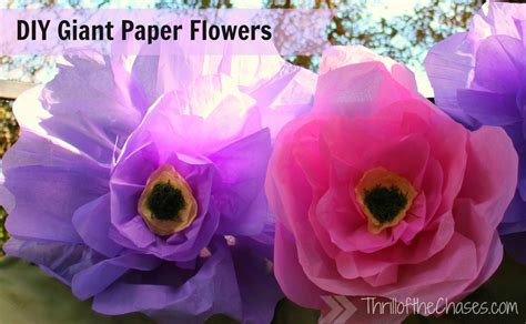 How To Make Big Flowers Out Of Tissue Paper - happier easter photos with crafts from dollar tree