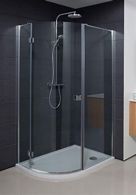 Simpsons Shower Doors Simpsons Design Single Door Offset Quadrant Enclosure 1200x900mm