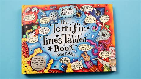 libro the terrific times tables terrific times tables youtube