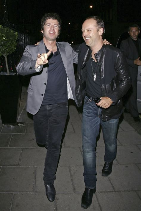 lars ulrich house noel gallagher and lars ulrich photos photos zimbio