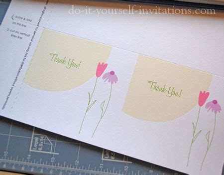 do it yourself printable greeting cards free printable thank you cards