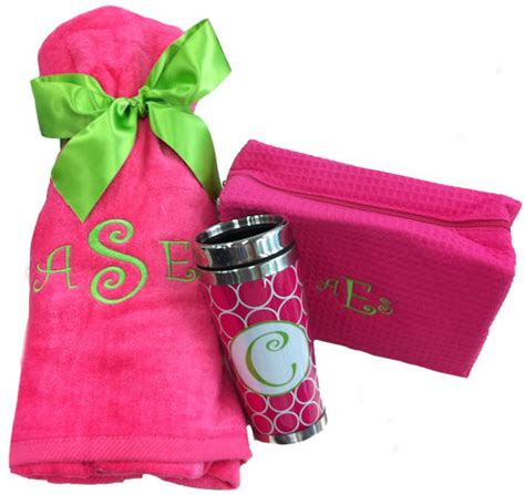 Monogrammed Gifts - personalize your gifts with monogrammed bridesmaid gifts