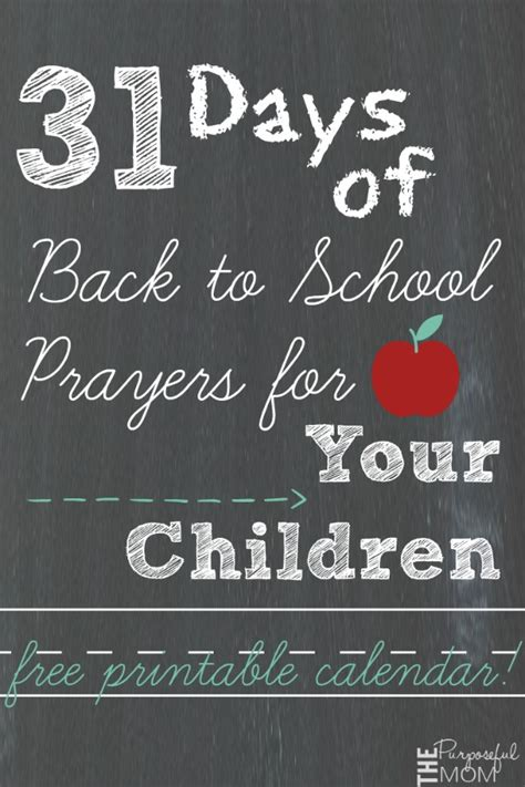 31 days of hearing god speak books 31 days of back to school prayers for your children the