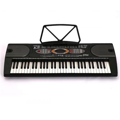 Keyboard Piano Techno T9880i new black 61 key electronic keyboard electric piano organ k61 ebay