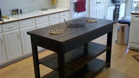 Simple Kitchen Island Plans | ana white easy kitchen island diy projects