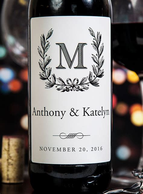 Wedding Wine Label Ideas