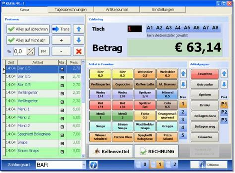 software für banken kassen software kassensystem 7 2 free pc kasse