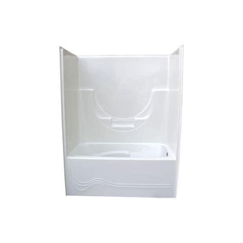 bathtub and wall one piece armstrong one piece tub wall glass world bathtubs drop in acrylic tubs