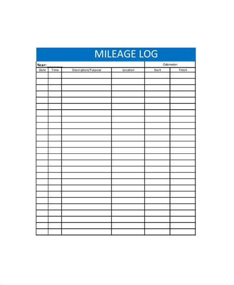 log template   word excel  documents