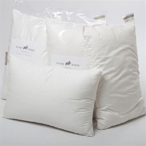 aussie wool comfort pillow the australian made caign