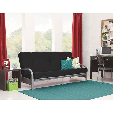 mainstays connectrix futon multiple colors mainstays connectrix bonded leather futon multiple colors