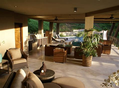 courtyard home plan for your own paradise in costa rica