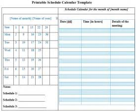 Free Printable Work Schedule Template Free Printable Blank Weekly Calendar Templates Car Tuning