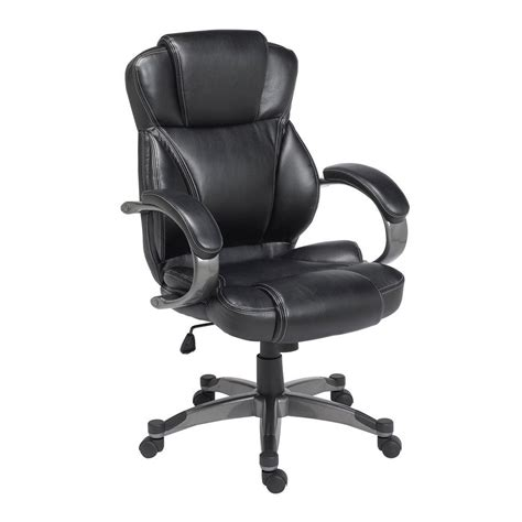At The Office Chairs Design Ideas Z Line Designs Black Leather Executive Office Chair Zl4001 01ecu The Home Depot