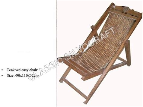 Easy Chair India by Antique Teak Wood Easy Chair Antique Teak Wood Easy