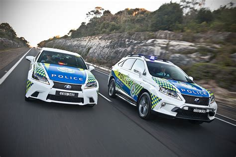 lexus australia lexus gs and rx hybrids joining australian police
