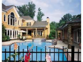 House plans with swimming pools home plans with pools at eplans com