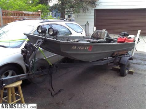 duck boat gps armslist for sale trade 14 aumicraft jon boat duck