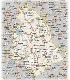 Umbria Italy Map by Umbria Italy Map