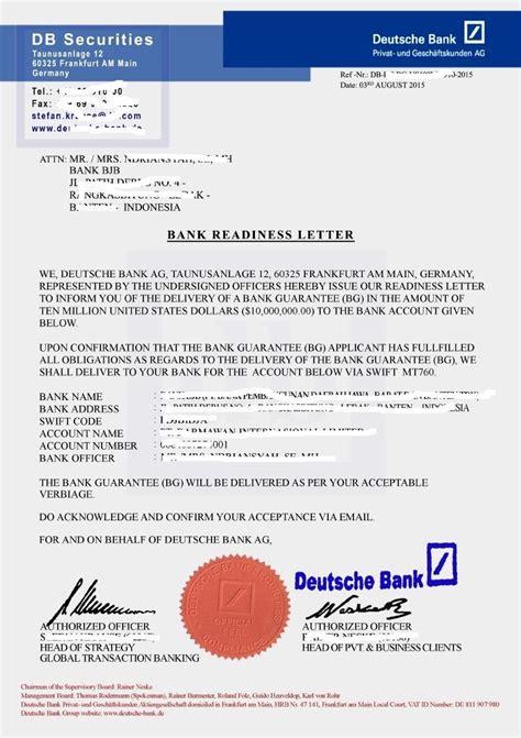 Bank Letter Rwa Www Bg Sblc
