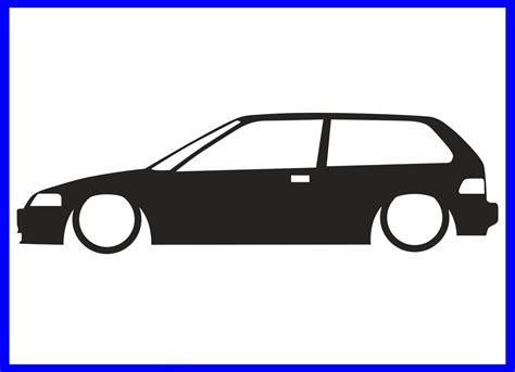 Sticker Line Honda by Honda Sir Sticker