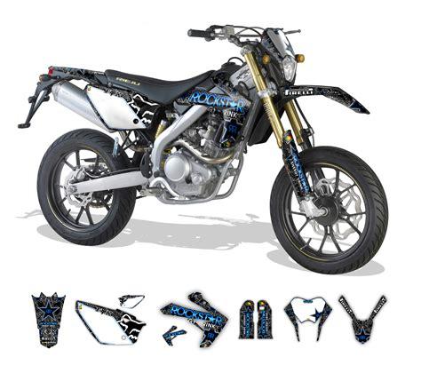 Yamaha Dt Aufkleber Set by Rieju Mrt Marathon 50 125 Rockstar Fox Graphics Series