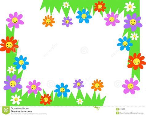 clipart bordi angoli floreali fotografia stock immagine 247200