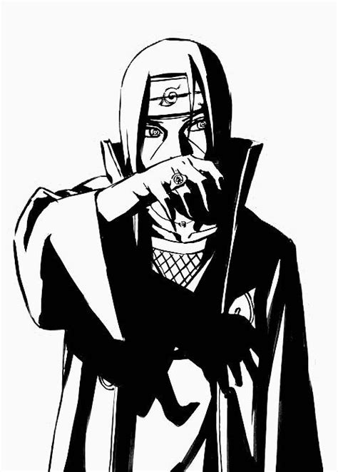 Itachi Drawing | Free download on ClipArtMag