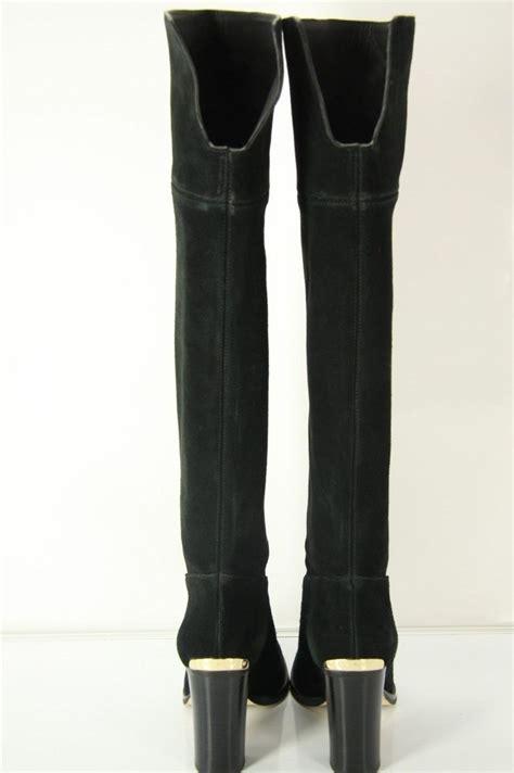michael kors black suede boots size