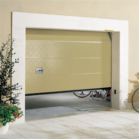 ballan porte porta sezionale lake con pannello coibentato con snodo in