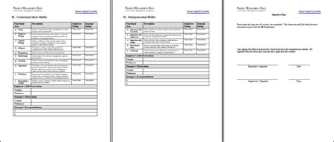 annual review template employee employee annual review template