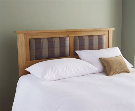 wooden headboards uk morpheus solid oak headboard