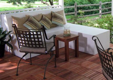 how to make a patio bench how to build outdoor patio bench with ottoman hgtv