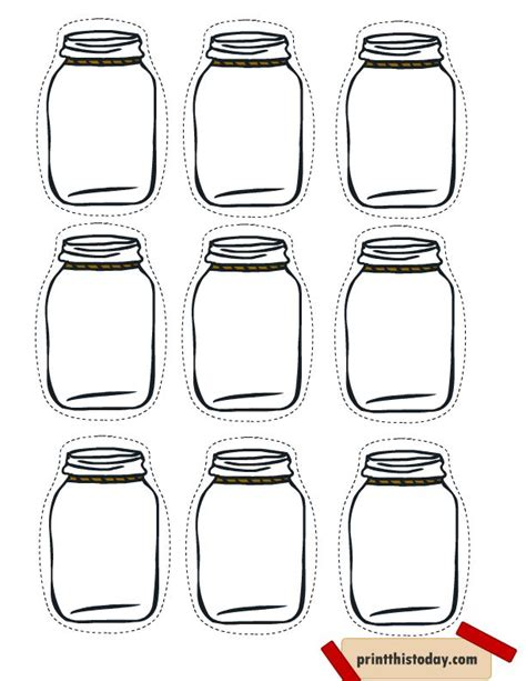 jar tags template 25 unique free printable labels ideas on