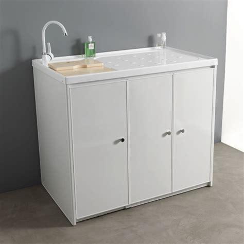 lavelli per lavanderia mobile lavanderia 107x65 jos 232 con lavatoio e vano lavatrice